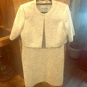 2 Piece Special Occasion Dress & Coat